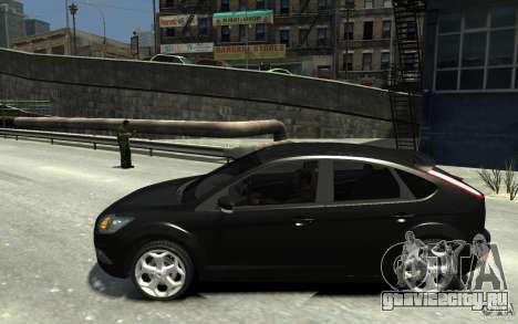 Ford Focus 2009 для GTA 4 вид слева