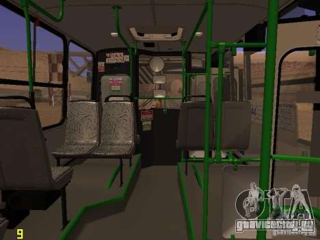 Ikarus C63 для GTA San Andreas вид сзади