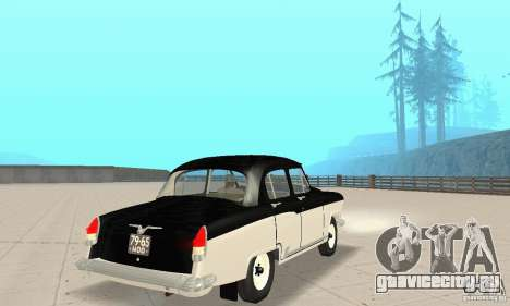 ГАЗ-21 Волга для GTA San Andreas вид слева