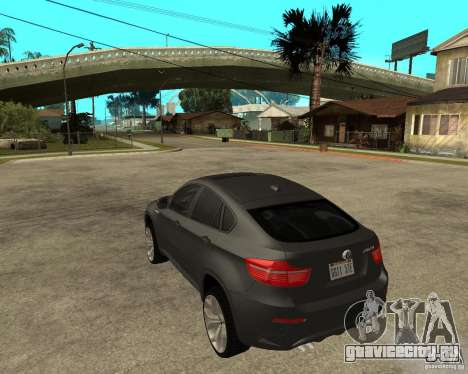 BMW X6 M для GTA San Andreas