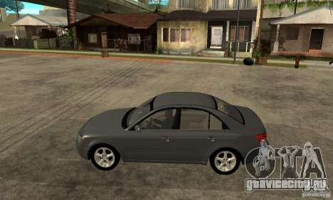Hyundai Sonata 2008 hd для GTA San Andreas