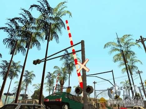 ЖД Переезд RUS для GTA San Andreas четвёртый скриншот