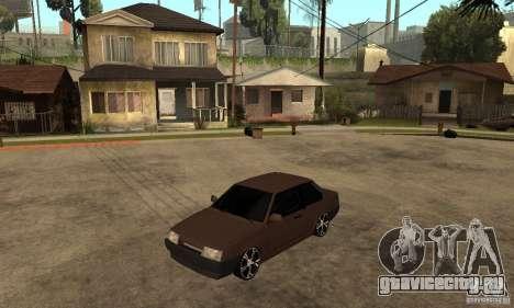 Lada ВАЗ 21099 coupe для GTA San Andreas
