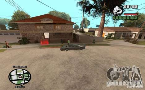 New CJs House для GTA San Andreas второй скриншот