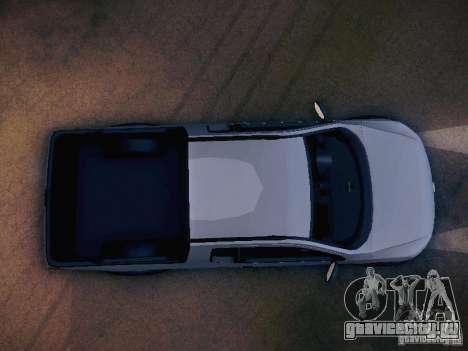 Volkswagen Saveiro Cross для GTA San Andreas вид сверху