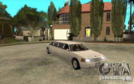 Stretch - GTA IV для GTA San Andreas вид сзади
