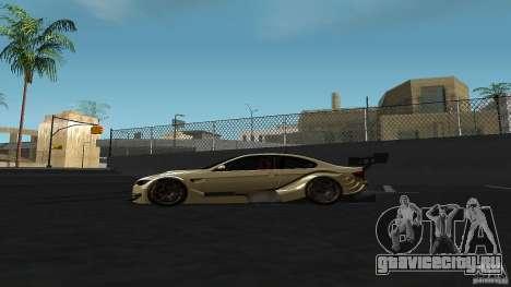 BMW E92 M3 для GTA San Andreas вид слева