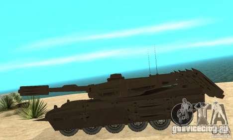 Танк Rhino Megatron для GTA San Andreas вид слева