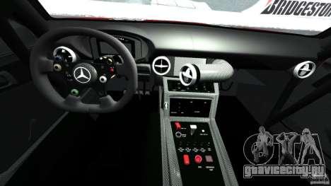 Mercedes-Benz SLS AMG GT3 2011 v1.0 для GTA 4 вид сзади