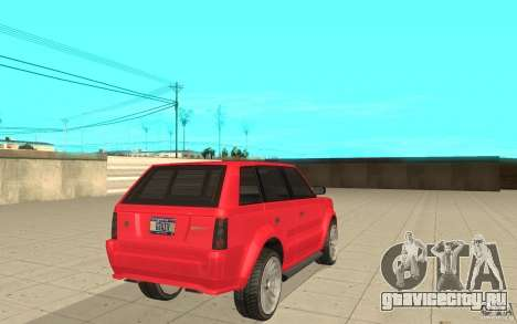 Huntley Sport из GTA 4 для GTA San Andreas вид сзади слева