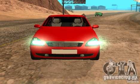 Лада Приора хэтчбэк для GTA San Andreas вид слева