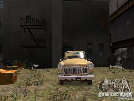 ГАЗ 21Р для GTA 4 вид сверху