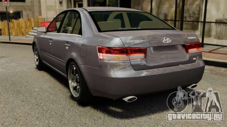 Hyundai Sonata 2008 для GTA 4