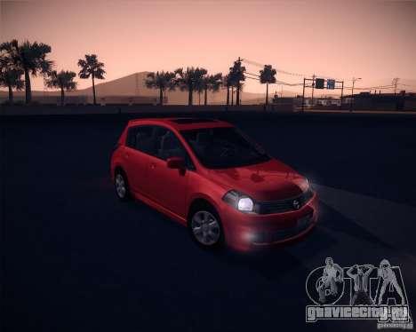 Nissan Versa Stock для GTA San Andreas