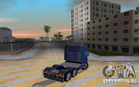 SCANIA 164L 580 V8 для GTA Vice City вид сзади слева