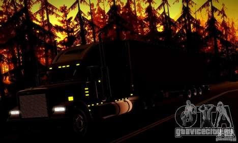 Freightliner Classic XL для GTA San Andreas вид снизу
