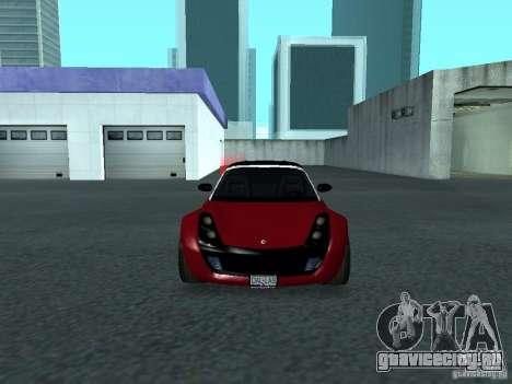 Smart Roadster Coupe для GTA San Andreas вид сбоку