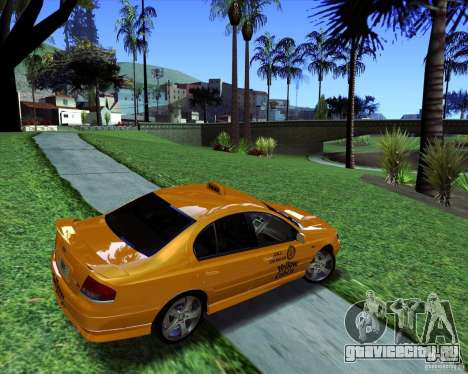 Ford Falcon XR8 Taxi для GTA San Andreas вид слева