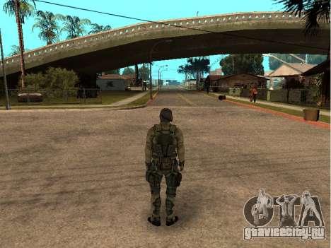 Скин army инженер для GTA San Andreas второй скриншот