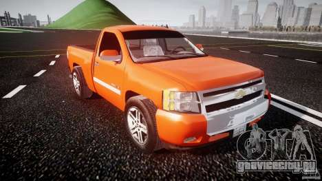 Chevrolet Silverado 2011 для GTA 4 вид изнутри