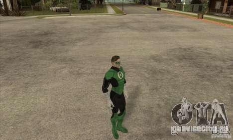 Green Lantern для GTA San Andreas третий скриншот