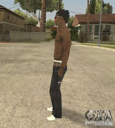 Afro-American Boy для GTA San Andreas второй скриншот
