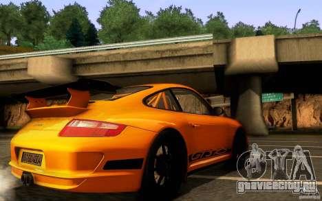Porsche 911 GT3 RS для GTA San Andreas вид сверху