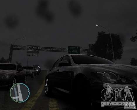 Jaguar XF-R для GTA 4 вид справа