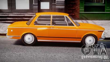 BMW 2002 1972 для GTA 4 вид сбоку