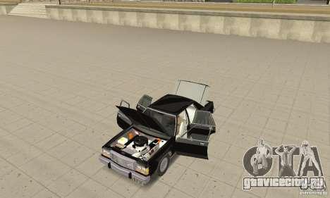 Ford LTD Crown Victoria 1985 MIB для GTA San Andreas вид сзади