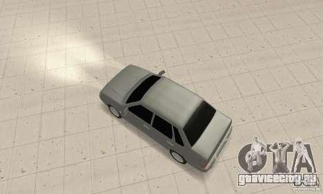 ВАЗ 2115 TUN для GTA San Andreas вид сзади слева