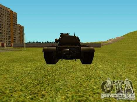 Танк T-110E5 для GTA San Andreas вид справа
