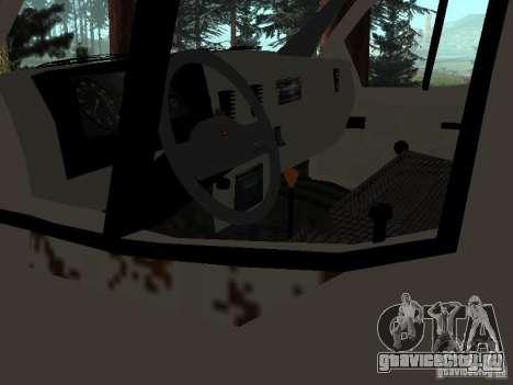 Кузов ГАЗели для GTA San Andreas пятый скриншот