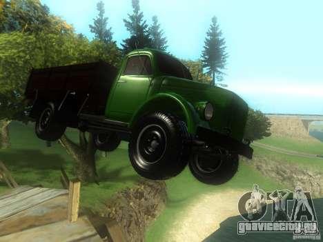 ГАЗ-63 для GTA San Andreas вид сзади