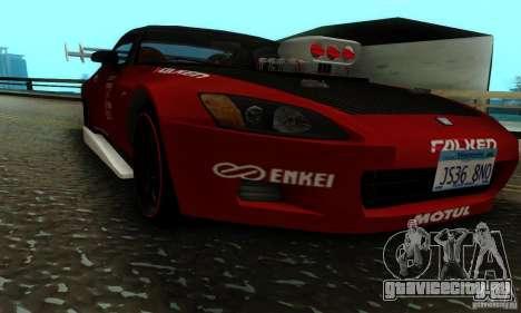 Honda S2000 для GTA San Andreas вид сбоку