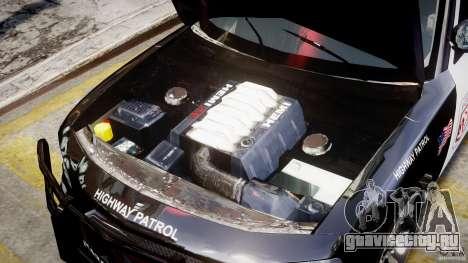 Dodge Charger NYPD Police v1.3 для GTA 4 вид изнутри