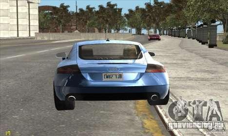 Audi TT 2006 для GTA San Andreas вид справа