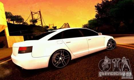 Audi A6 Blackstar для GTA San Andreas колёса