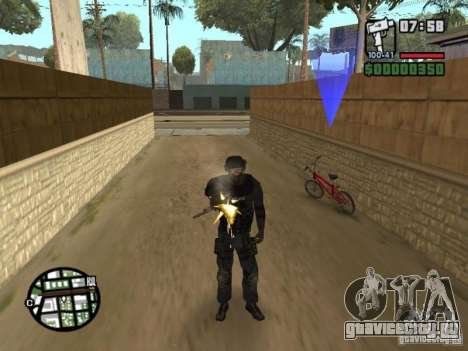 Спецназовец из SWAT 4 для GTA San Andreas третий скриншот
