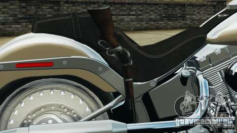 Harley Davidson Softail Fat Boy 2013 v1.0 для GTA 4 вид сверху