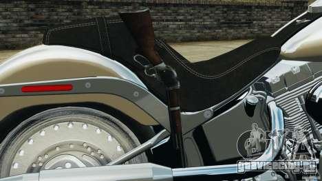 Harley Davidson Softail Fat Boy 2013 v1.0 для GTA 4 вид сверху
