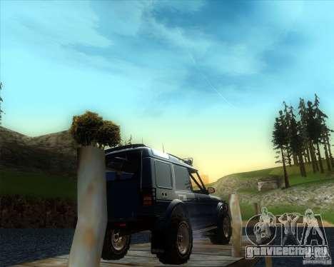Landrover Discovery 2 Rally Raid для GTA San Andreas вид слева