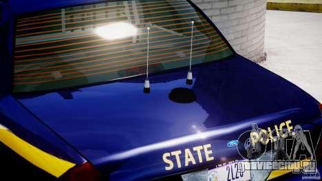 Ford Crown Victoria New York State Patrol [ELS] для GTA 4