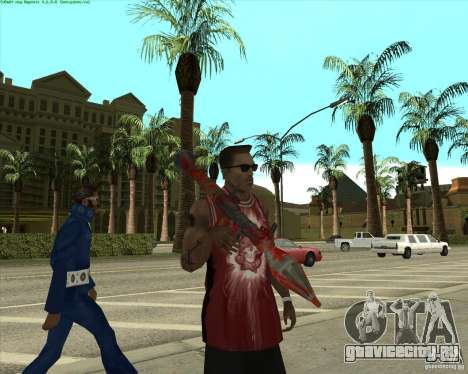Blood Weapons Pack для GTA San Andreas десятый скриншот