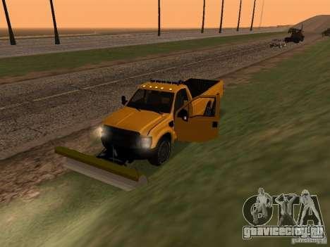 Ford Super Duty F-series для GTA San Andreas вид сзади