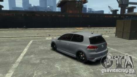 Volkswagen Golf GTI для GTA 4 вид справа
