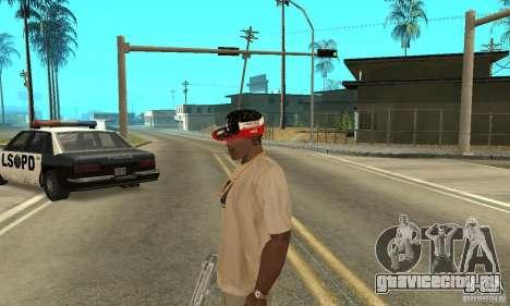 New Era Cap для GTA San Andreas четвёртый скриншот