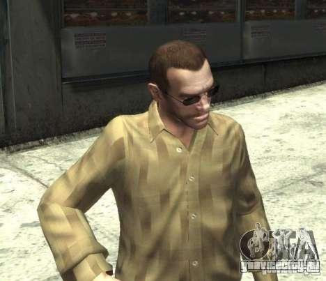 Новые очки для Нико - темные для GTA 4 третий скриншот