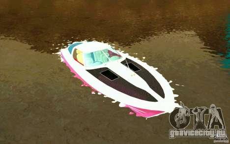 Mamba Speedboat для GTA San Andreas