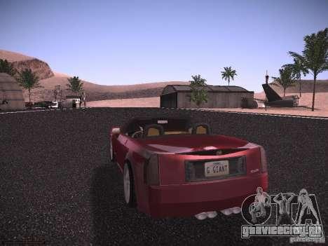 Cadillac XLR 2006 для GTA San Andreas вид справа